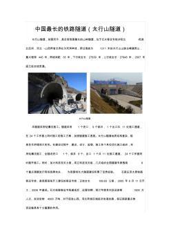 中国最长的铁路隧道