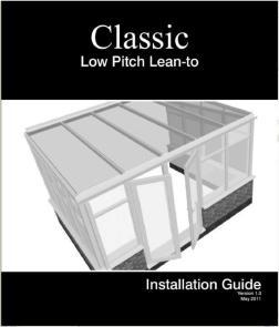 经典LEAN型阳光房PVC安装手册